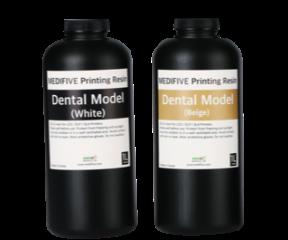 Dental Model White/Beige (3D 프린터 모델 레진)